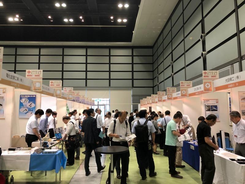 大田区加工技術展示商談会の様子
