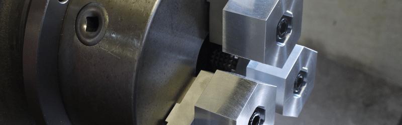 汎用旋盤スクロールチャック用アルミ製六角生爪、鉄製六角生爪