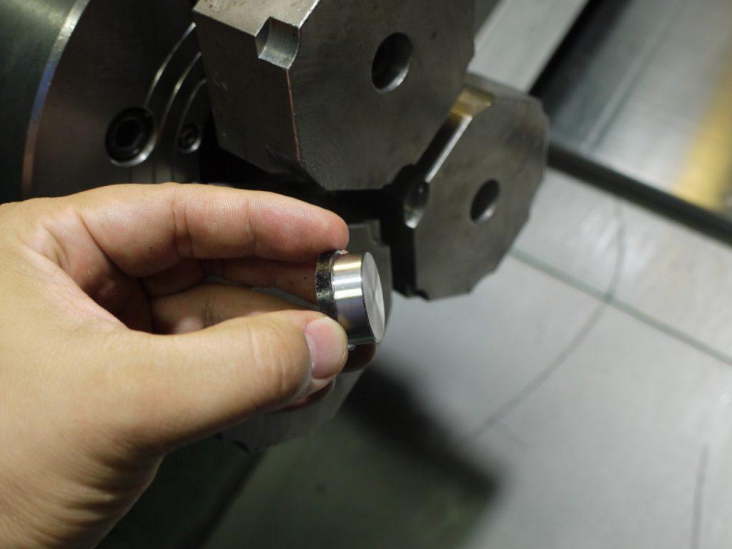 ハイス鋼材の加工工程