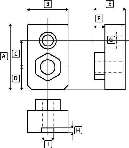 NC旋盤用油圧パワーチャック用対応カメチャック寸法図